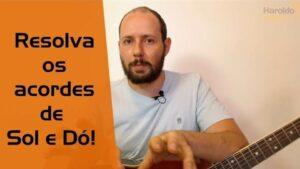 Read more about the article Dicas para os acordes de Sol e Dó no violão