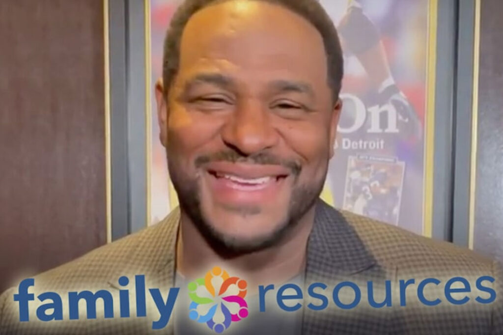photo of Jerome Bettis smiling
