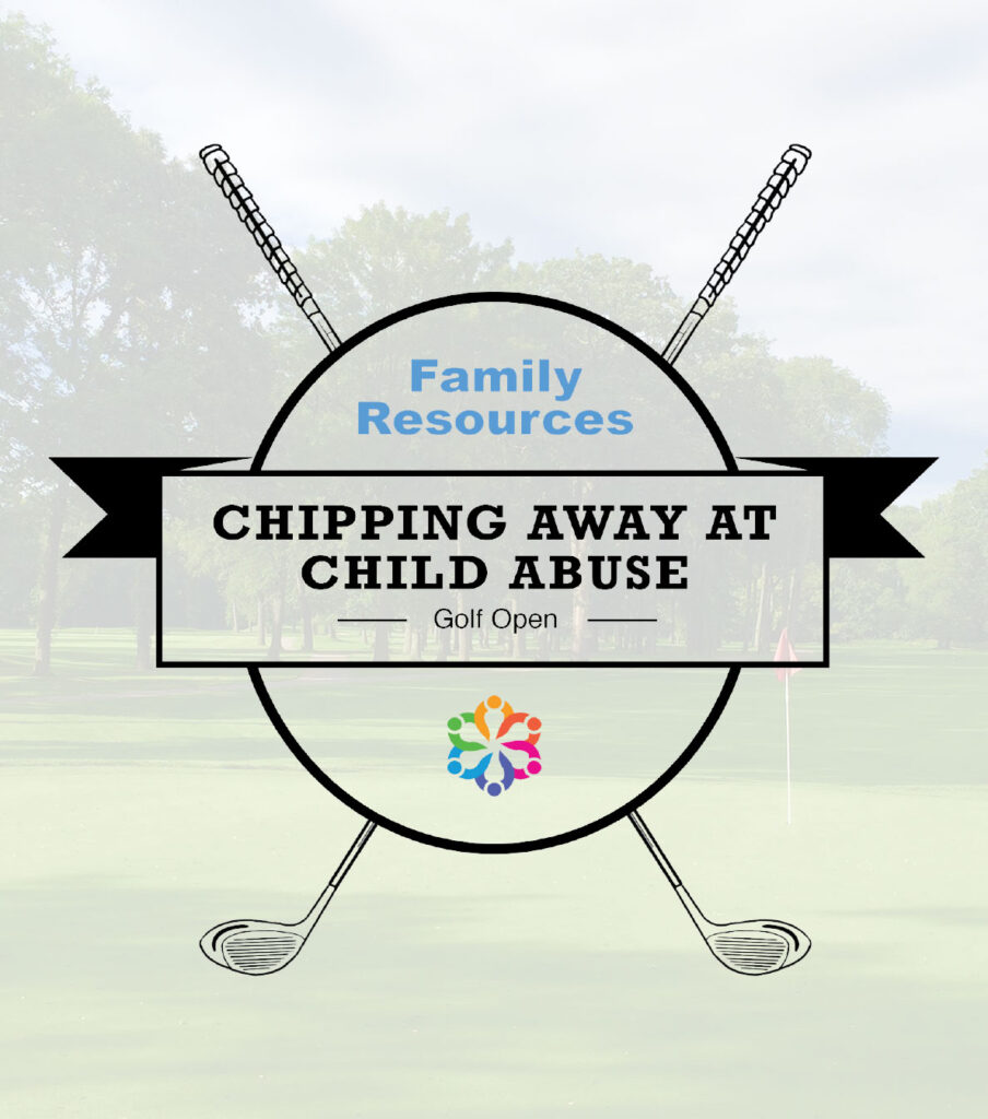 Badge for Charity Golf Event