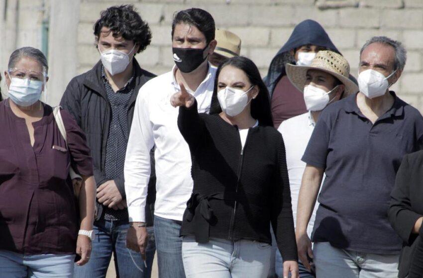 SUPERVISA GABY GAMBOA AVANCE DE IMPORTANTE OBRA HIDRÁULICA EN SAN BARTOLOMÉ TLALTELULCO
