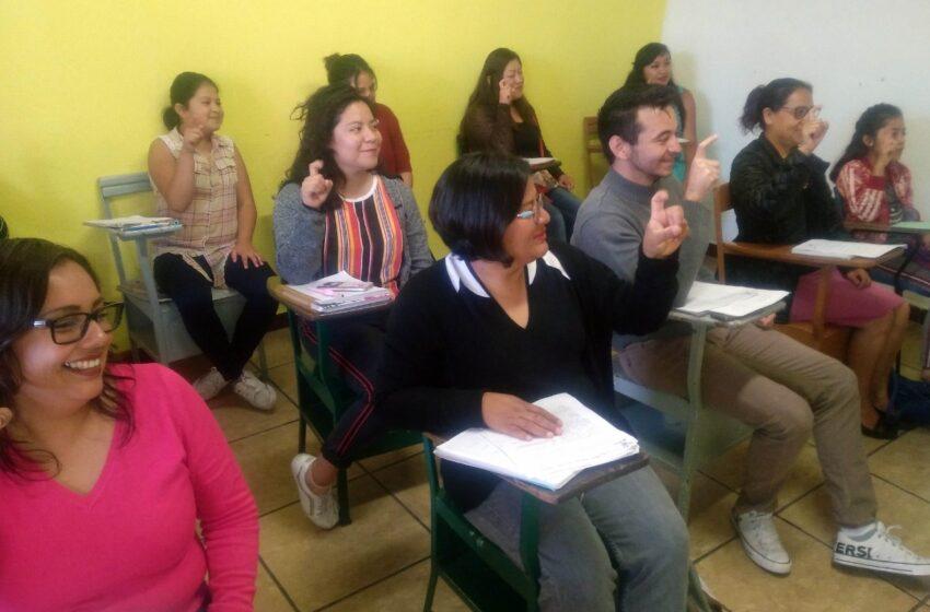 PROMUEVE ASISTENCIA PRIVADA ENSEÑANZA DE LA LENGUA DE SEÑAS MEXICANA