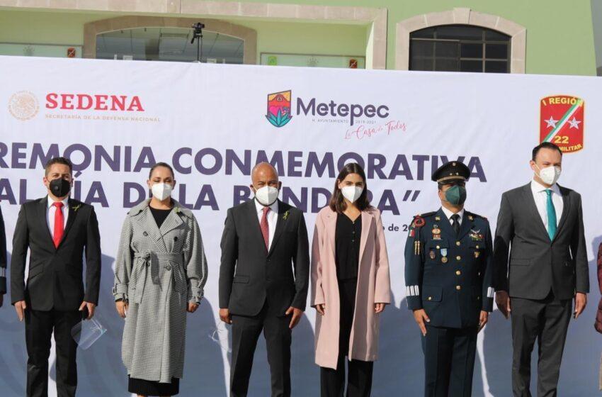CELEBRA METEPEC 200 AÑOS DEL LÁBARO PATRIO EN LA 22a ZONA MILITAR