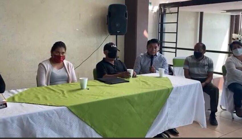 TOLUCA ESTÁ OLVIDADA DENUNCIAN AUTORIDADES AUXILIARES DEL MUNICIPIO