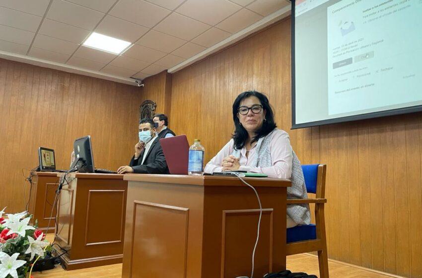 LA DECISIÓN DE ELEGIR ESTÁ EN MANOS DE LA COMUNIDAD UNIVERSITARIA: YOLANDA BALLESTEROS