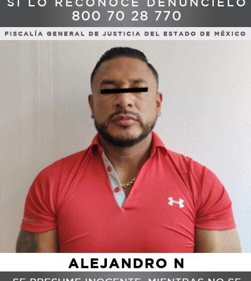 """DETIENEN A """"EL NEGRO"""", SEGUNDO AL MANDO DE LA FAMILIA MICHOACANA EN EL VALLE DE TOLUCA"""
