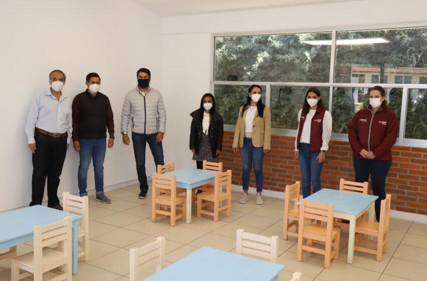 CUIDAMOS A LA NIÑEZ CON OBRAS EDUCATIVAS DE CALIDAD: GABY GAMBOA