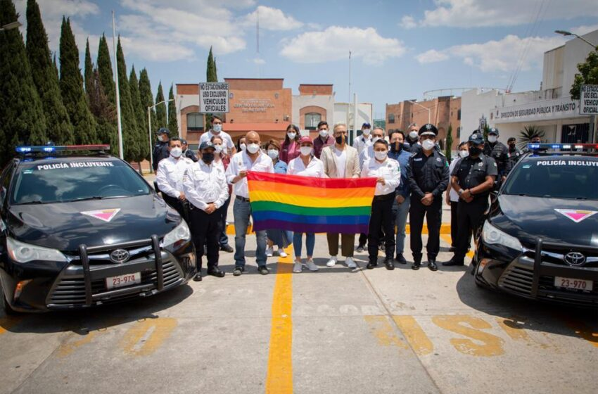 PRIMER MUNICIPIO EN LA ENTIDAD QUE DISPONE POLICÍA PARA GARANTIZAR TRATO IGUALITARIO Y COMBATIR LA DISCRIMINACIÓN: GABY GAMBOA