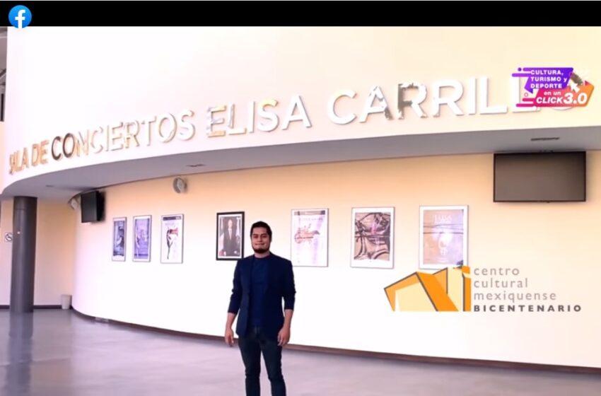 PRESENTA CULTURA, TURISMO Y DEPORTE EN UN CLICK 3.0 RECORRIDO POR LA MECÁNICA TEATRAL