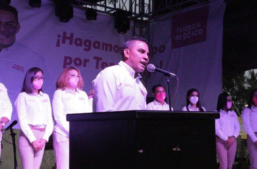 GANAREMOS CON EL DESEO QUE TIENEN LOS TENANCINGUENSES DE QUE A SU MUNICIPIO LE VAYA MEJOR: GRILLO CRUZALTA