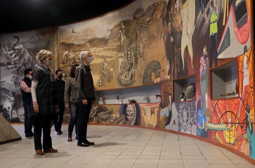 ENTREGA ALFREDO DEL MAZO LA REHABILITACIÓN DEL MUSEO DE ANTROPOLOGÍA E HISTORIA DEL CENTRO CULTURAL MEXIQUENSE