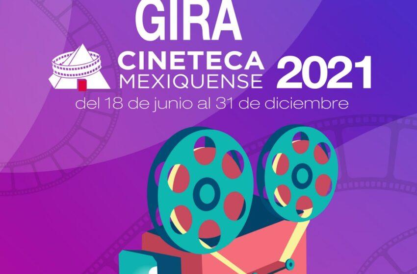ANUNCIAN SEGUNDA EDICIÓN DE LA GIRA DE LA CINETECA MEXIQUENSE