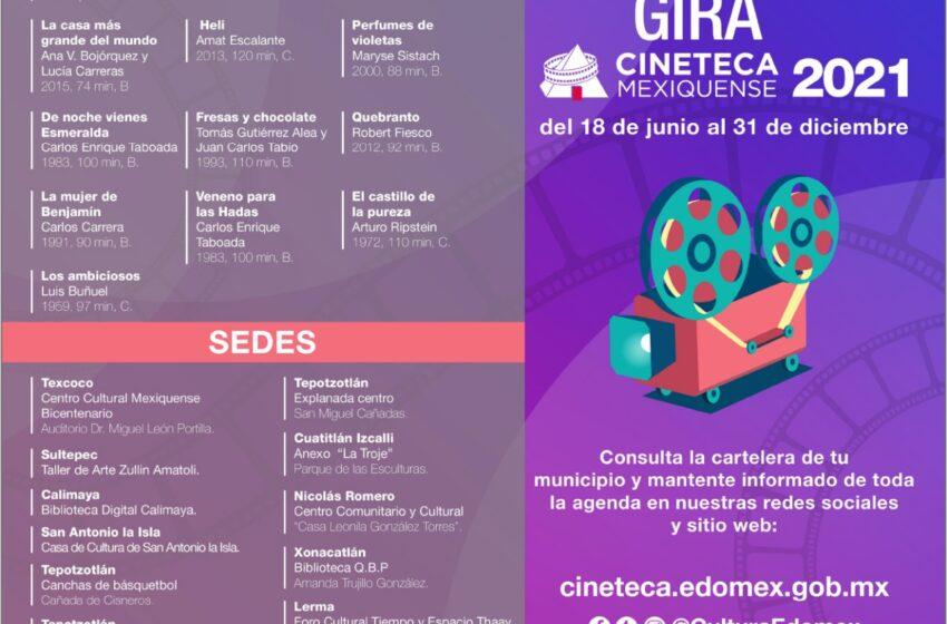 LLEGA SEGUNDA EDICIÓN DE LA GIRA DE LA CINETECA MEXIQUENSE AL CENTRO CULTURAL MEXIQUENSE BICENTENARIO