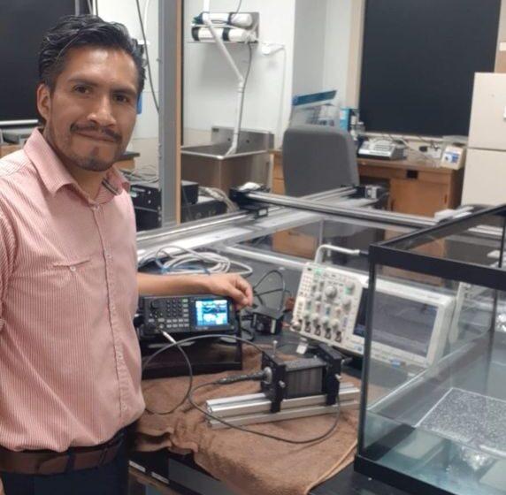 PARTICIPA DELFINO REYES EN INVESTIGACIÓN INTERNACIONAL SOBRE APLICACIONES DE ULTRASONIDO EN EL ÁREA BIOMÉDICA