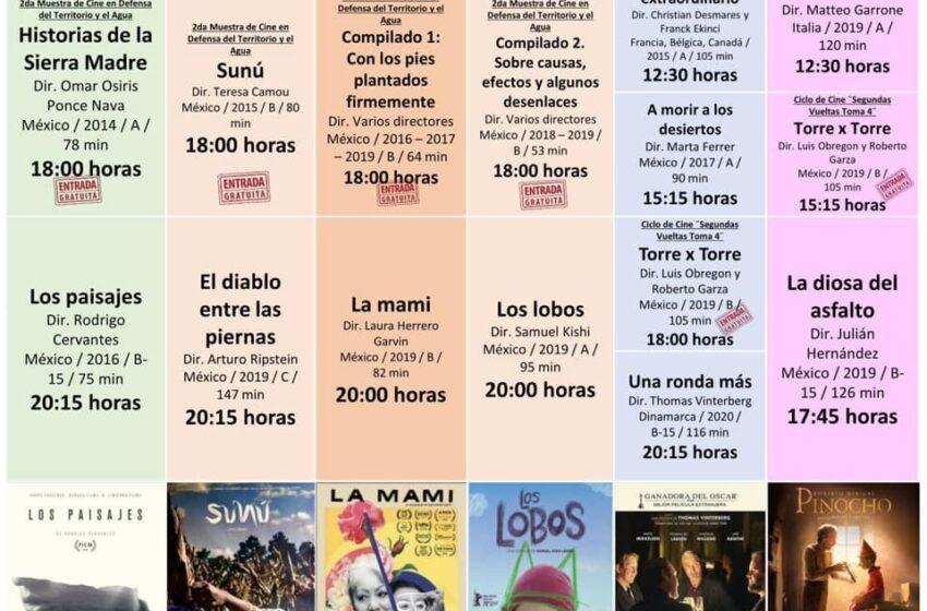 DAN A CONOCER LA CARTELERA DE LA CINETECA MEXIQUENSE