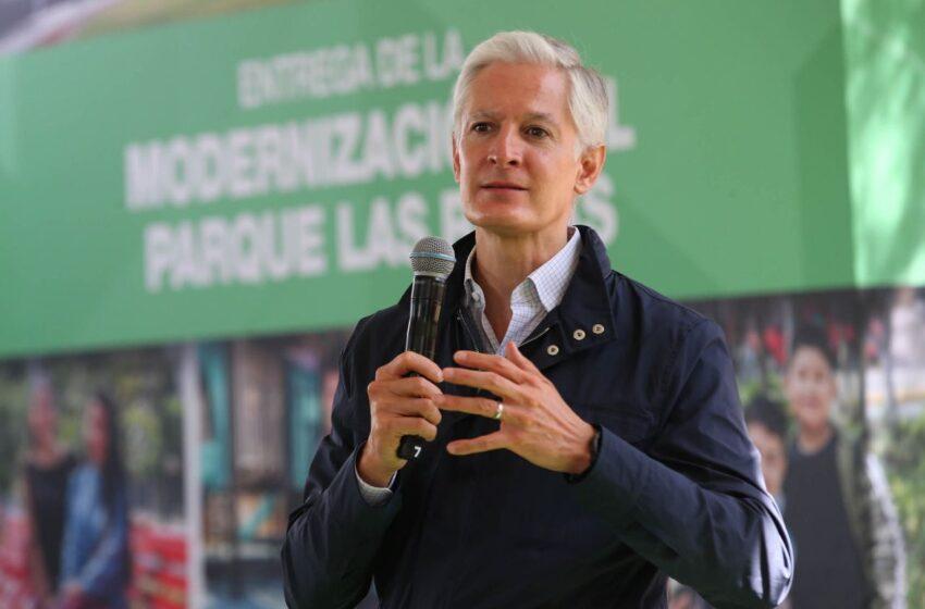 LLAMA ALFREDO DEL MAZO A LAS FUERZAS POLÍTICAS DE LA ENTIDAD A TRABAJAR EN UNIDAD POR EL DESARROLLO DE LA SOCIEDAD DEL EDOMÉX