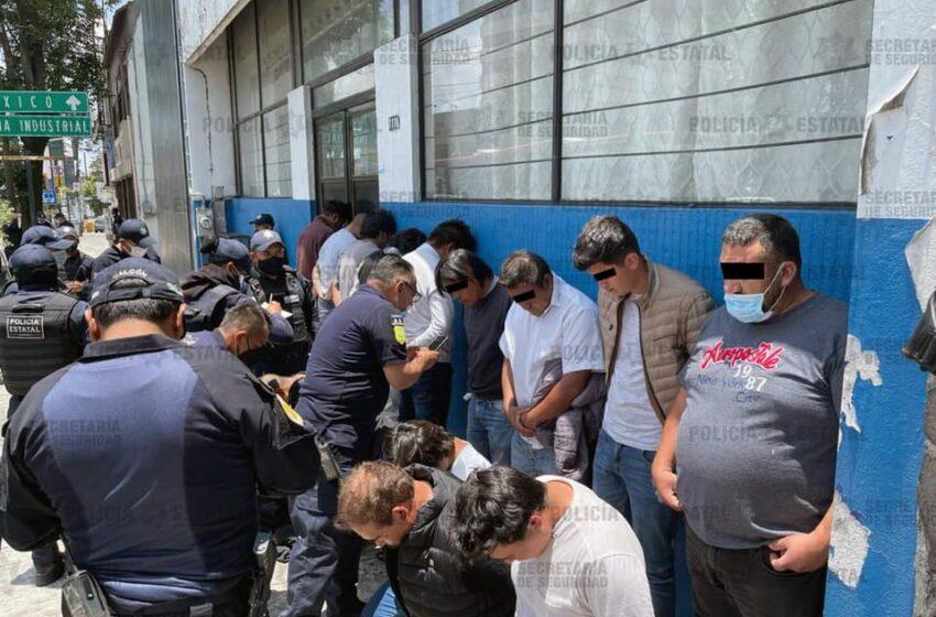 DETIENE SECRETARÍA DE SEGURIDAD A 15 POSIBLES RESPONSABLES DE LA AGRESIÓN EN LA CASILLA ELECTORAL DE METEPEC