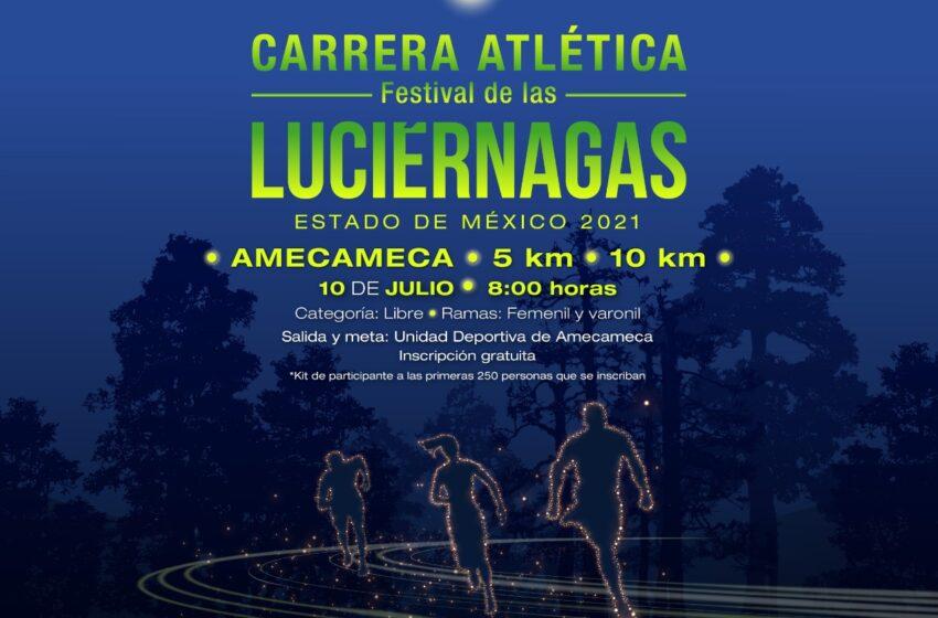 PREPARAN CARRERA ATLÉTICA DURANTE FESTIVAL DE LAS LUCIÉRNAGAS EN AMECAMECA