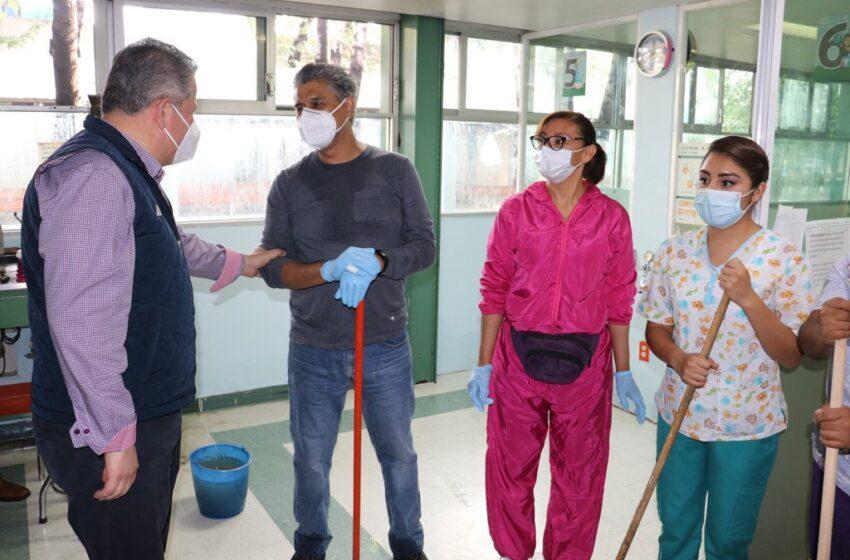 TRABAJAN LOS TRES ÓRDENES DE GOBIERNO PARA RESTABLECER AL HOSPITAL GENERAL DE ATIZAPÁN DE ZARAGOZA DEL ISEM
