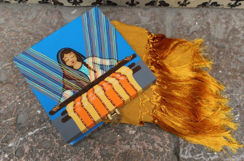 ELABORAN MANOS MEXIQUENSES CAJAS DECORATIVAS CON DIFERENTES TEMÁTICAS