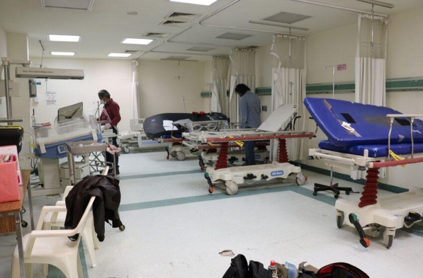 AVANCE DE 70 POR CIENTO EN LOS TRABAJOS DE REHABILITACIÓN DEL HOSPITAL GENERAL DE ATIZAPÁN DE ZARAGOZA