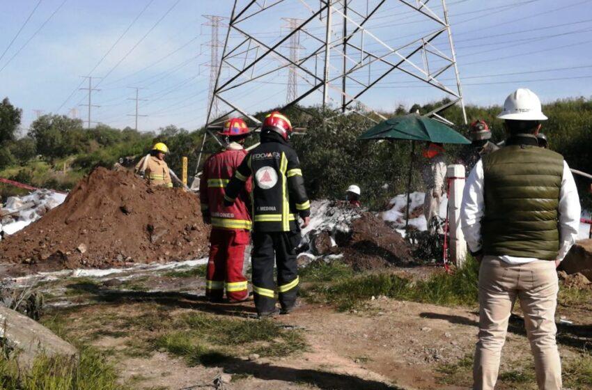 REABREN AUTOPISTA MÉXICO-PIRÁMIDES TRAS CONTROLAR FUGA DE HIDROCARBURO