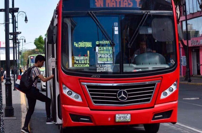 NO HAY AUTORIZACIÓN PARA SUBIR TARIFA DE TRANSPORTE EN EDOMEX