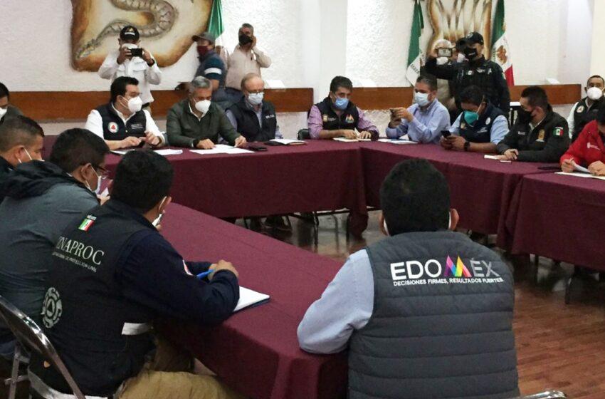 ATIENDE GEM DE MANERA COORDINADA LAS AFECTACIONES EN EL MUNICIPIO DE ECATEPEC