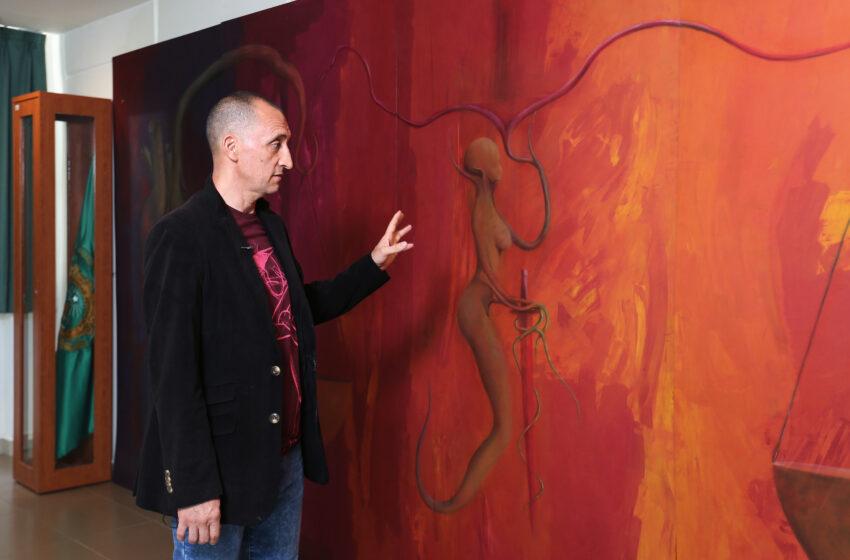 UNIDAD ACADÉMICA PROFESIONAL CHIMALHUACÁN DE LA UAEM ALBERGA MURAL DEL ARTISTICA PLÁSTICO JUAN GOMEZ