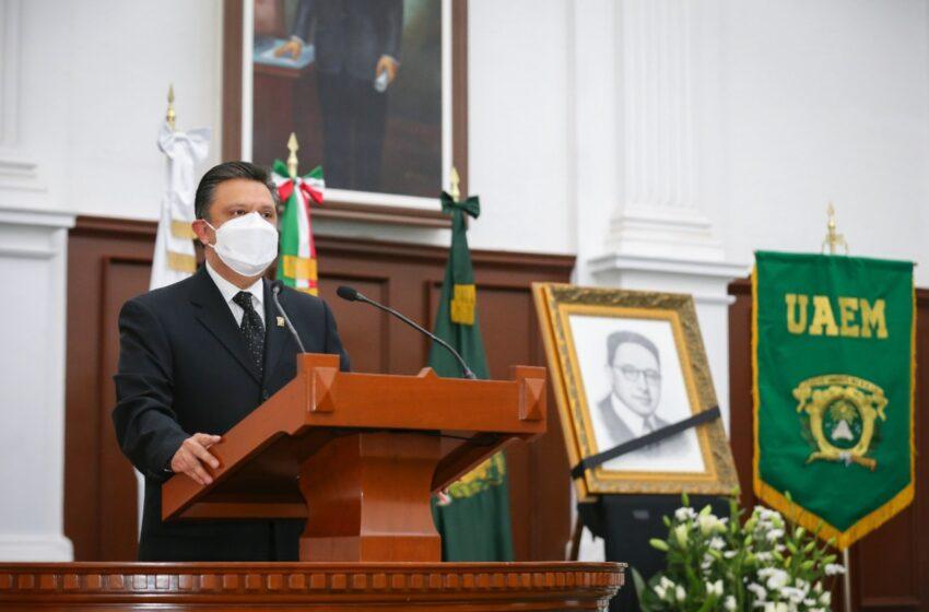 VIGENTE Y PERTIENENTE EL LEGADO DE HORACIO ZUÑIGA EN LA UAEM