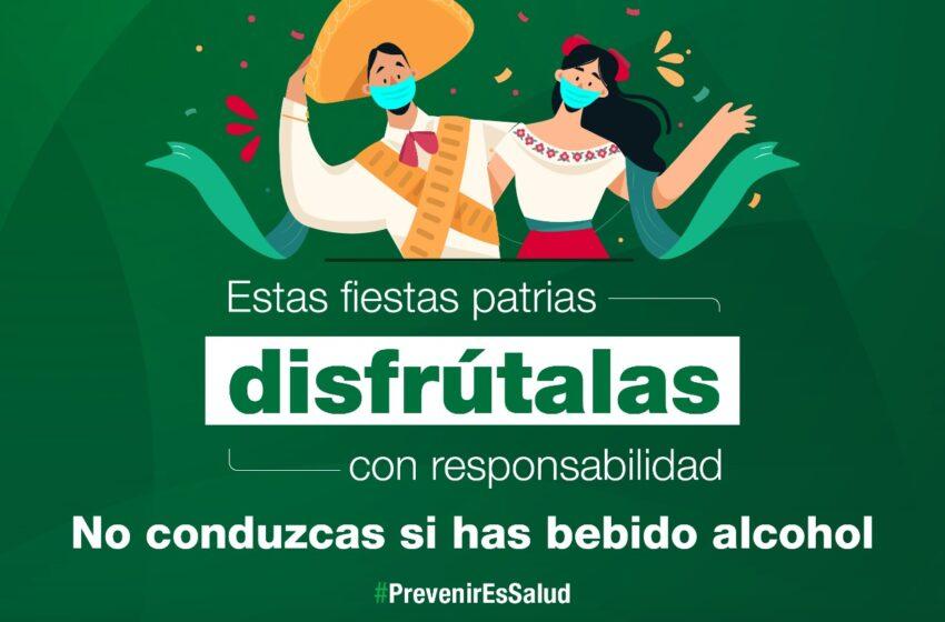 """LANZA IMCA CAMPAÑA """"ESTAS FIESTAS PATRIAS DISFRÚTALAS CON RESPONSABILIDAD"""""""