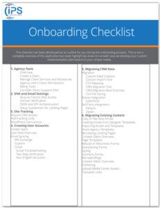 Onboarding Checklist Image