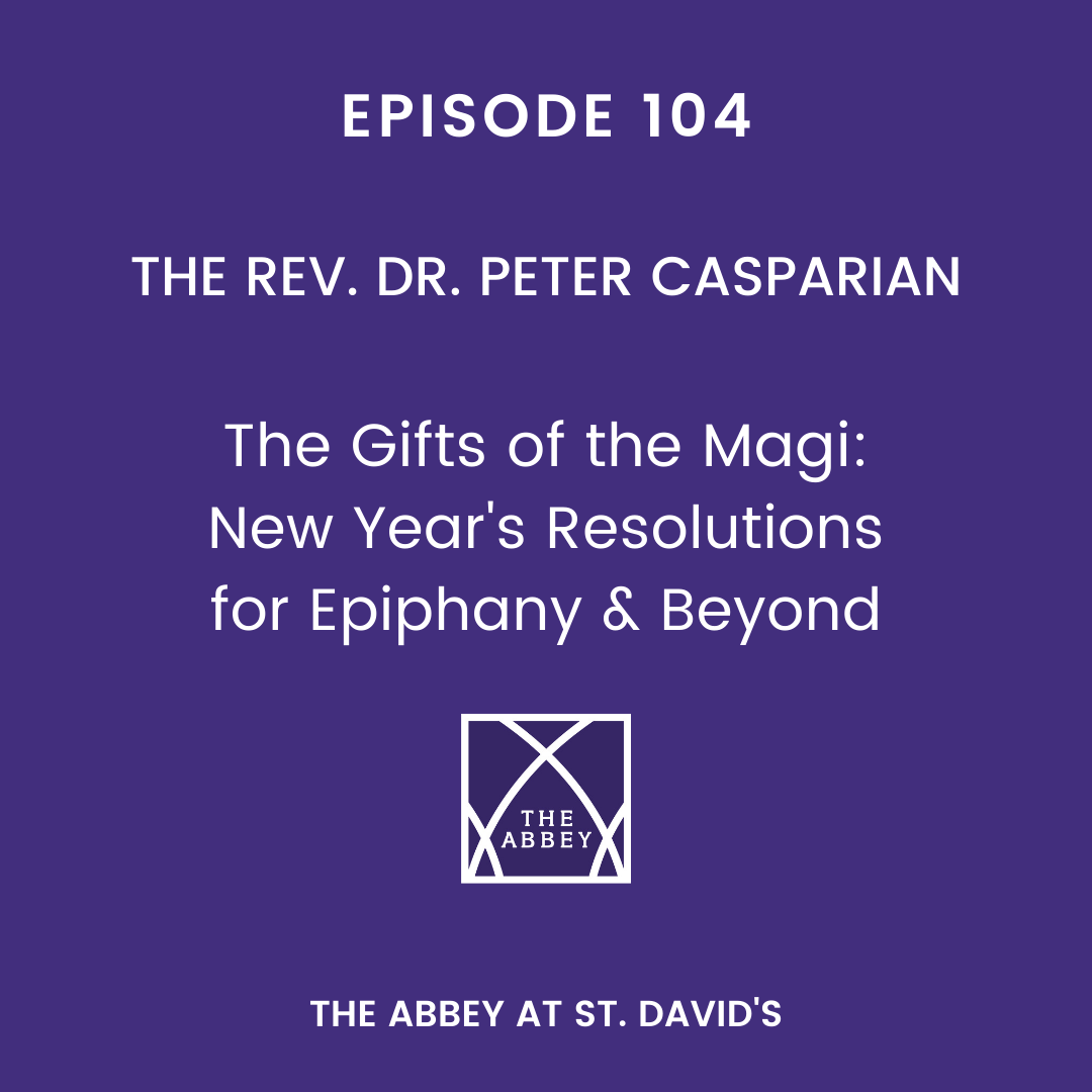 Sunday Morning Lecture – January 3, 2016 – The Rev. Peter Casparian
