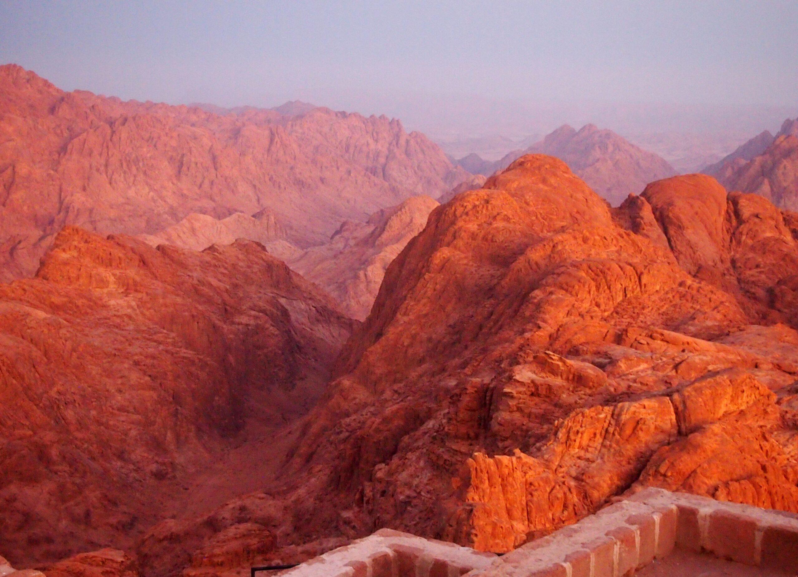Pilgriming to Mt. Sinai