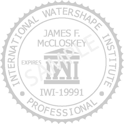 International Watershape Institute (IWI) Seal