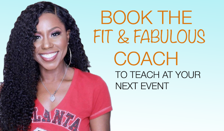 Book the Fit & Fabulous Coach