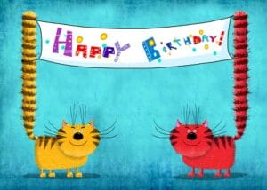 Cat birthday year