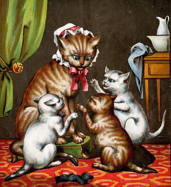 Three-Little-Kittens-Cat Nursery Rhymes