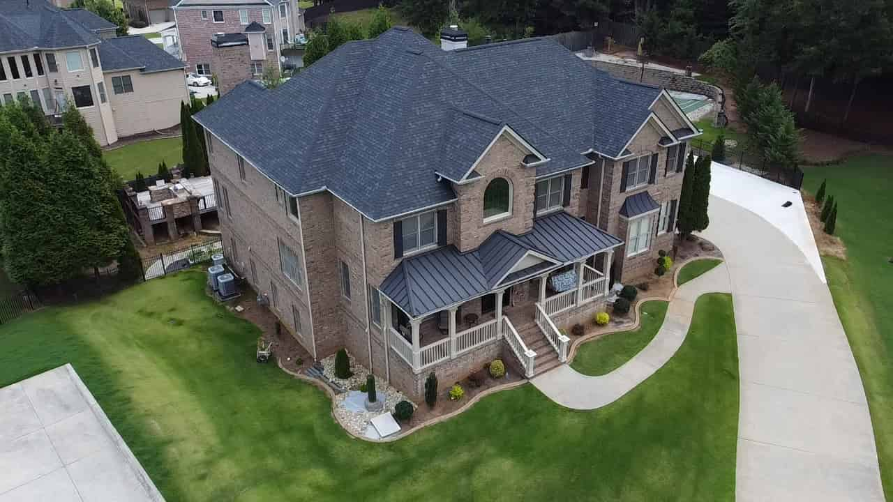finished roof replacement in Georgia