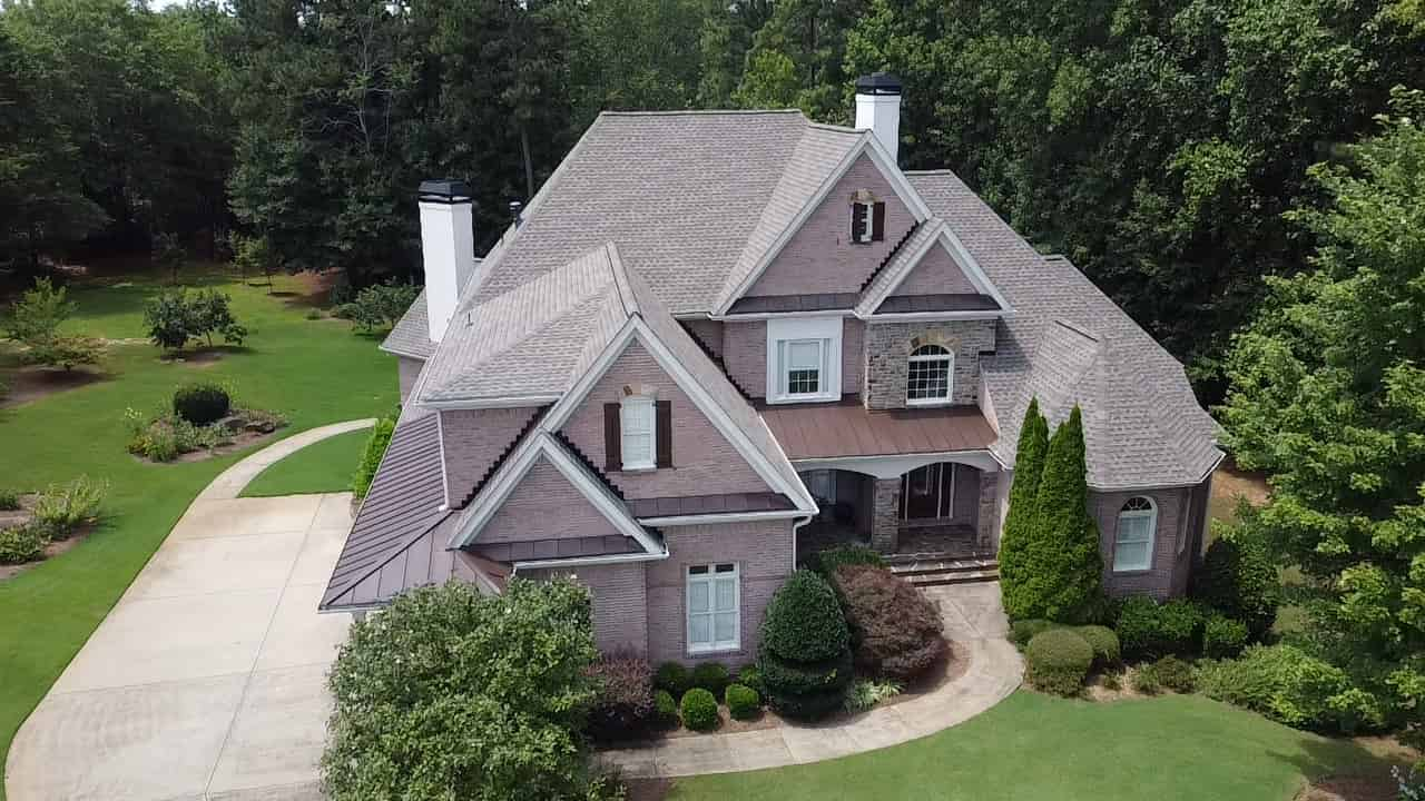 new gray roof in Georgia