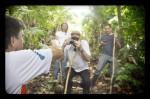 Jungle hike guests