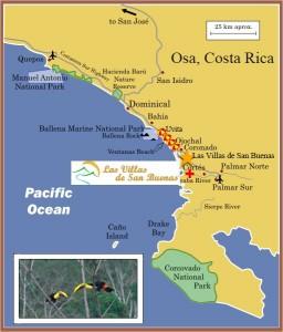 Location Las Villas San Buenas Map