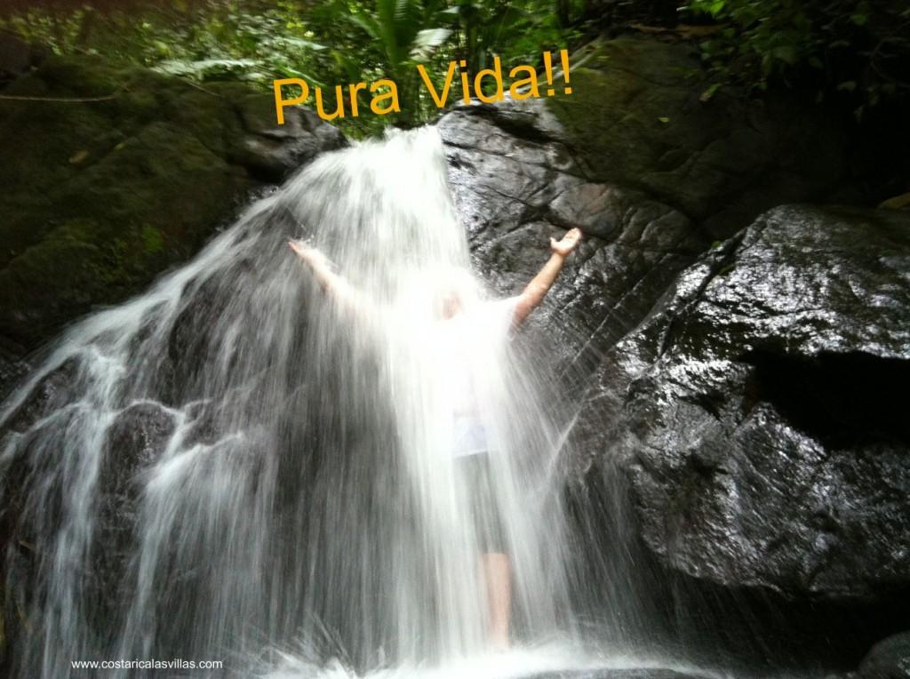 Costa Rica waterfall Nick