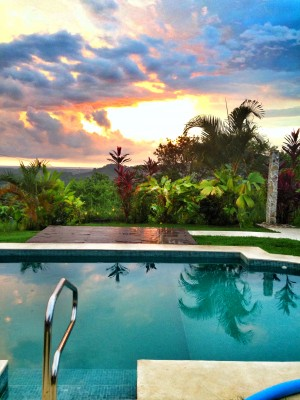 Casa lapa costa rica villa sunset