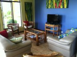 Costa Rica living room home for rent