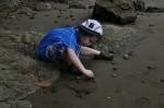 Playa Ventanas boy playing