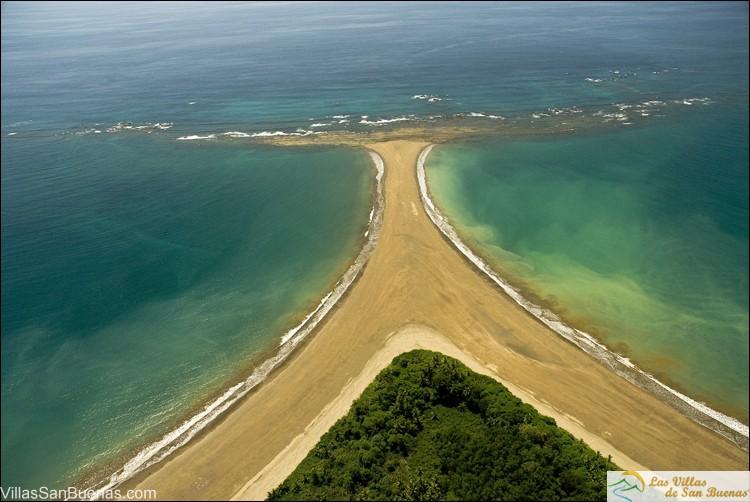Ballena National Park aerial north