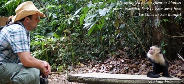 manuel antonio national park mono
