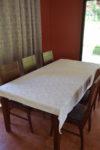 tinamou dinner table