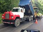 Dump truck costanera highway 34 osa