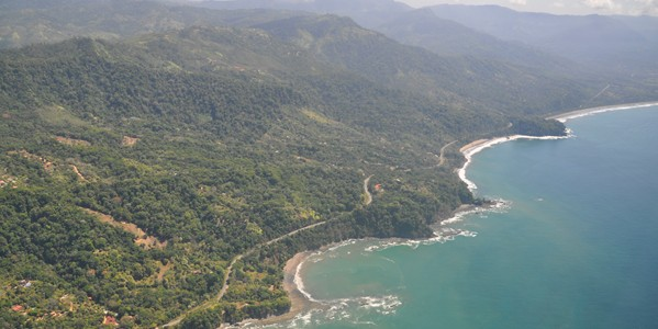 osa costa rica aerial costanera